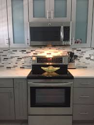 My Sarasota Kitchen Cabinets Kraftmaid Pebble Grey With Shaded