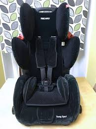 recaro young sport 1 2 3 combination childrens kids car seat 9 months