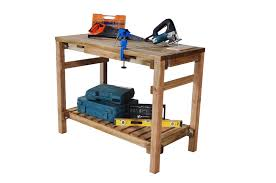picture of forest garden shed workbench