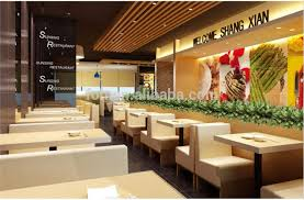 Modern Fast Food Restaurant Furniture Booth Seating And Tables foh