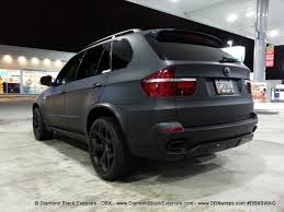 2009 BMW X5 4.8is Wrapped in Matte Black by DBX - Diamond Black ...