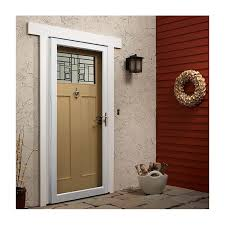 full view storm doors. Fullview Storm Door With Laminated Safety Glass Full View Doors