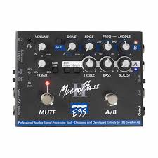 ebs ebs mb microbass ii bass preamp pedal pro audio land Massey Ferguson 135 Wiring Diagram at Hosa Dual Channel Footswitch Wiring Diagram