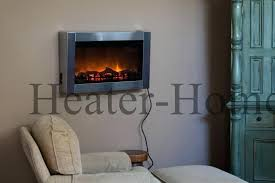 electric wall fireplace heaters electric in wall fireplace mounted fireplaces the home hanging heater with