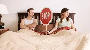 Image result for couple talking in bed