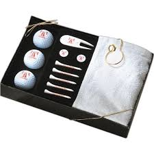 tee off your next great marketing caign with this upscale gift box set featuring 5 biodegradable golf tees 2 ball markers 3 golf a