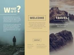How To Make Travel Brochure Free Brochure Maker Create Custom Brochures Adobe Spark