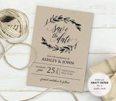 Free Rustic Vintage Wedding Invitation Templates | Bridal + Wedding ...