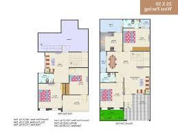 30 x 60 duplex house plans west facing fresh cool 25 60 house design west facing