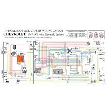 full color wiring diagram hei classic chevy truck parts 1967 72 full color wiring diagram modified