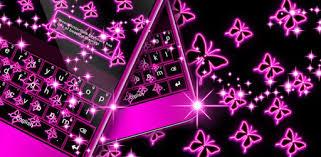 Neon <b>Butterflies</b> Keyboard - Apps on Google Play