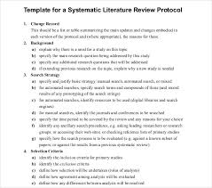 Sample Of Literature Review Apa Style How To Properly Use A Literature Review Template 1844