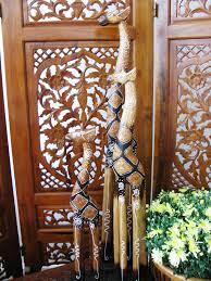gideon the wooden giraffe set