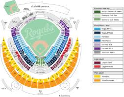 Royals Seating Chart Kauffman Stadium Section Seating Layout Spectacular