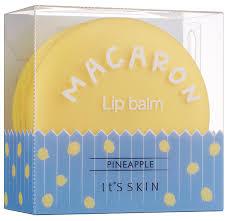 It'S SKIN <b>Бальзам для губ</b> Macaron <b>Pineapple</b> — купить по ...