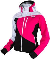 Fxr Womens Mission Soft Shell Hoodie Snowmobile Jacket