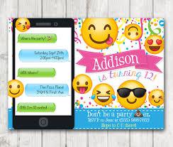 birthday invite girl printable emoji birthday party invitation emoji invitations iphone smiley face birthday invitation girl emojis bday invite emoticon bday