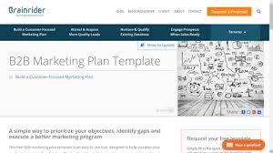 10 B2b Marketing Plan Examples To Help You Stay Organized