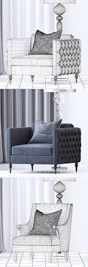 the sofa and chair company furniture set sofa 3d model 3