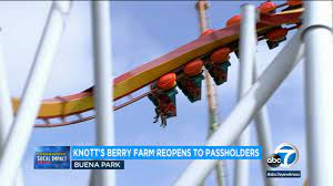 Knott's Berry Farm reopens to season ...