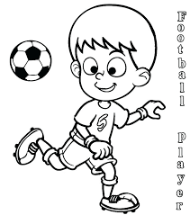 Football Coloring Pages Printable Coloring For Babies Amvame