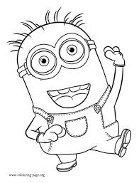 Small Picture Minion Coloring Pages fablesfromthefriendscom