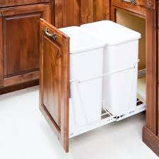 Kitchen Cabinet Garbage Can Kitchen Cabinet Trash Can Size