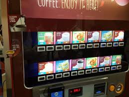 Vending Machine Pictures Mesmerizing Vending Machines Way Forward New Nestle Nescafe Alegria AVM Mini