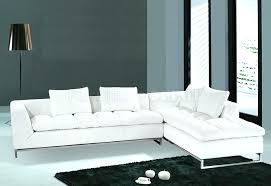 modern leather sectional couch. Perfect Modern Modern Leather Sectional Couch White Sofa Sofas  Sectionals Plus   Intended Modern Leather Sectional Couch
