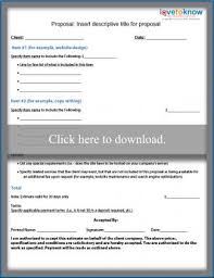 sample business proposal free business proposal samples lovetoknow