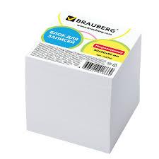 Купить <b>Блок для записей BRAUBERG</b>, непроклеенный, куб 9х9х9 ...