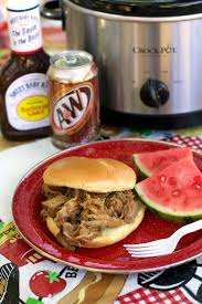 slow cooker root beer pulled pork the