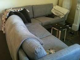 baby karlstad corner sofa ikea ers