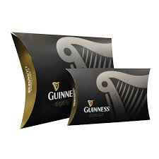 guinness embroidered a guinness gift packaging