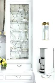 decorative cabinet glass cabinet glass inserts kitchen features beveled leaded glass inserts front door also white