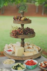 Party Food Display Stands Fascinating Cheese Fruit Platter Love The Wooden Food Display Cupcake Stand