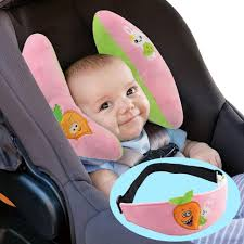 baby protective pillow eyepatch banana shape neck fixed newborn infant car seat cushions graco toddler head