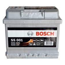 Аккумулятор <b>BOSCH</b> S5 001 Silver Plus 552 401 052 обратная ...