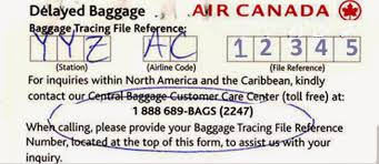 Retired At 48 Book Air Canada Lost Luggage Experience And