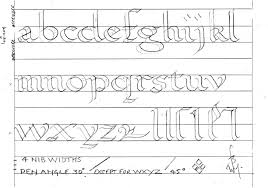printable calligraphy practice worksheets   BILL'S SPACE