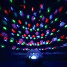 room light projector for a sensory lights lamp star p