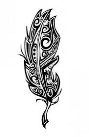 Vektor Pírko Tetování 68681725 Fotobanka Fotkyfoto