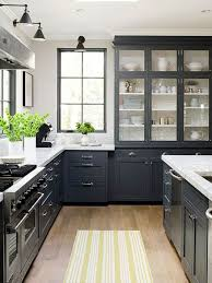 Black And White Kitchen Cabinet Designs