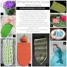 Free Crochet Baby Cocoon Pattern