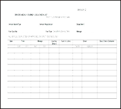 Vehicle Maintenance Record Book Mileage Record Book Fuel Log Vehicle Madebyforay Co