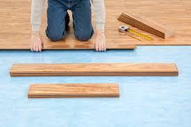 separate underlayment laminate floor