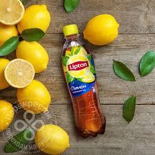Купить <b>Чай черный Lipton</b> Ice <b>Tea</b> Лимон 500мл с доставкой на ...