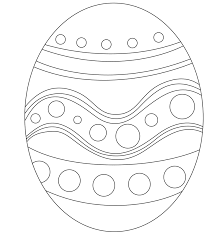 Small Picture Easter Egg Printable Coloring Page Coloring Book