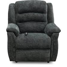 charcoal gray reclining power lift chair max rc willey furniture