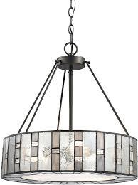 drum light chandelier elk 3 modern bronze drum hanging pendant lighting loading zoom drum light fixture